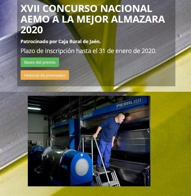Convocado el XVII Concurso AEMO a la mejor almazara de España 2020 1
