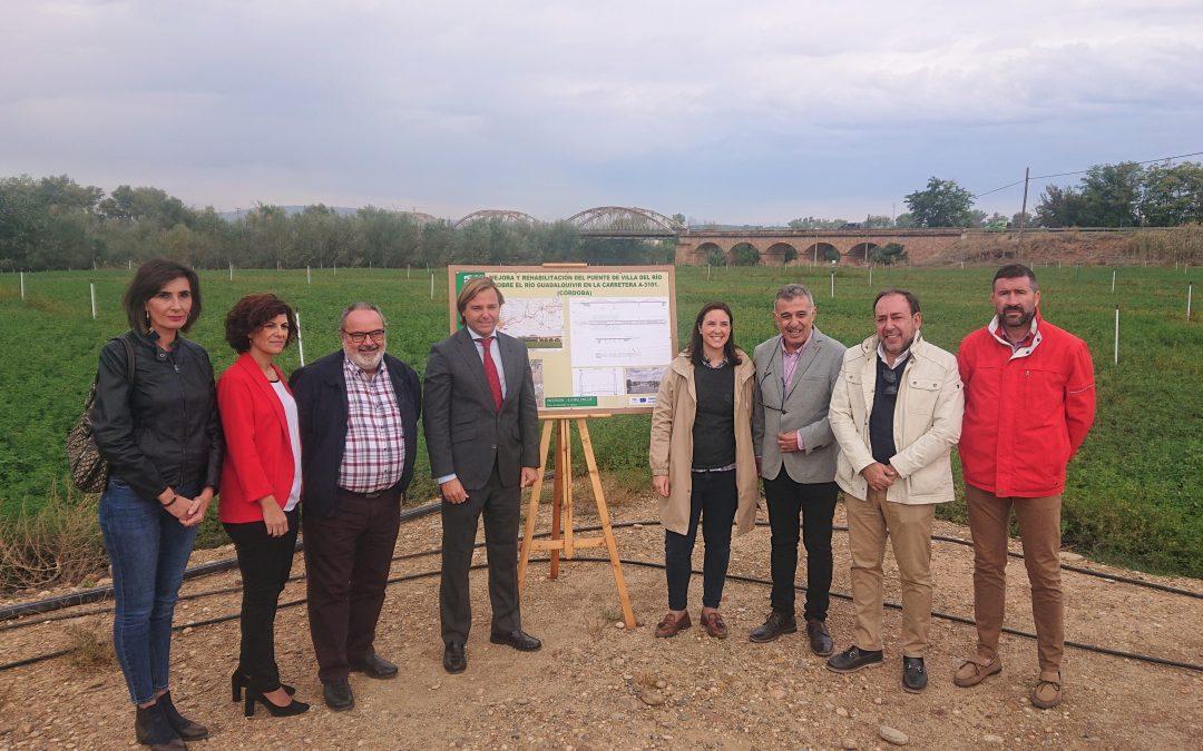 Presentado el proyecto de mejora y rehabilitación del puente de Hierro sobre el río Guadalquivir en la carretera A-3101 1