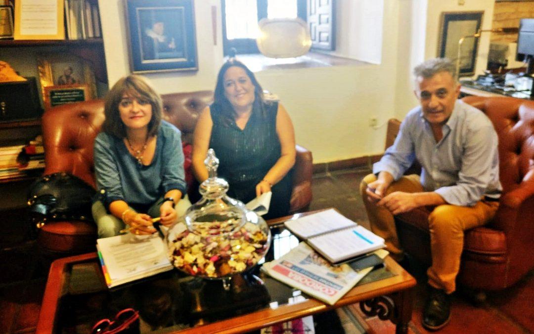 Visita institucional de la delegada de Cultura de la Diputación de Córdoba 1