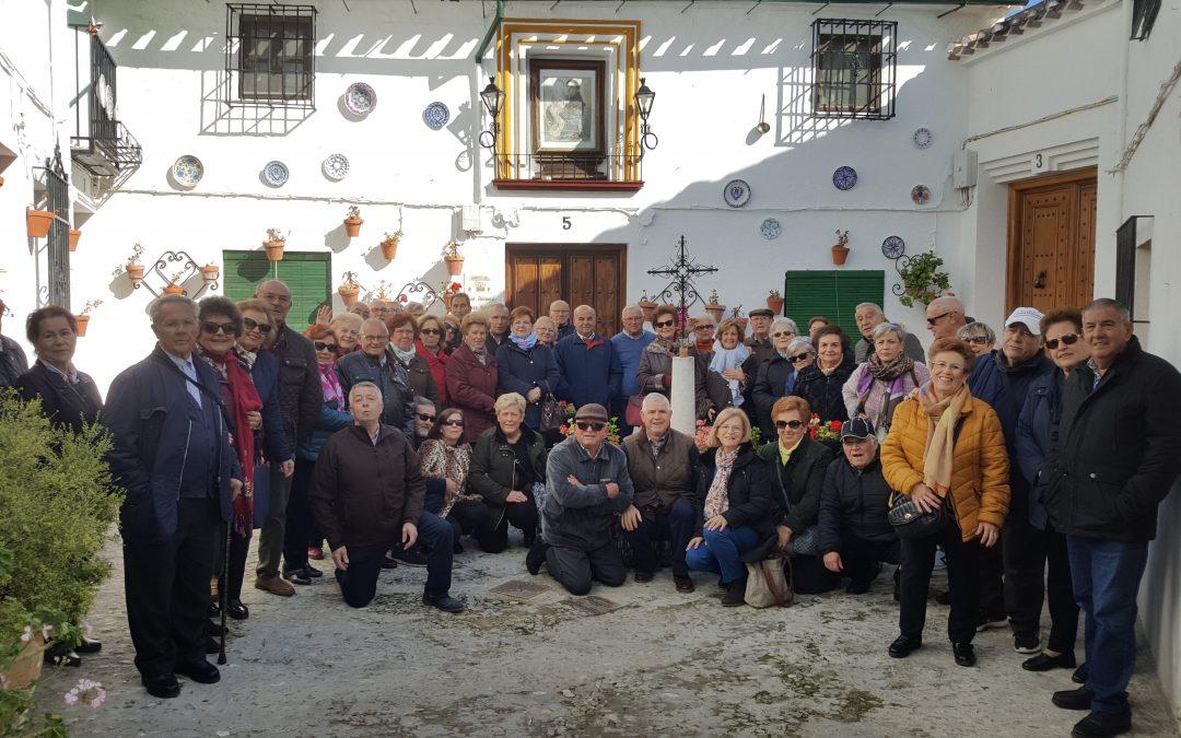 Nuestros mayores, de viaje cultural en Priego de Córdoba. 1