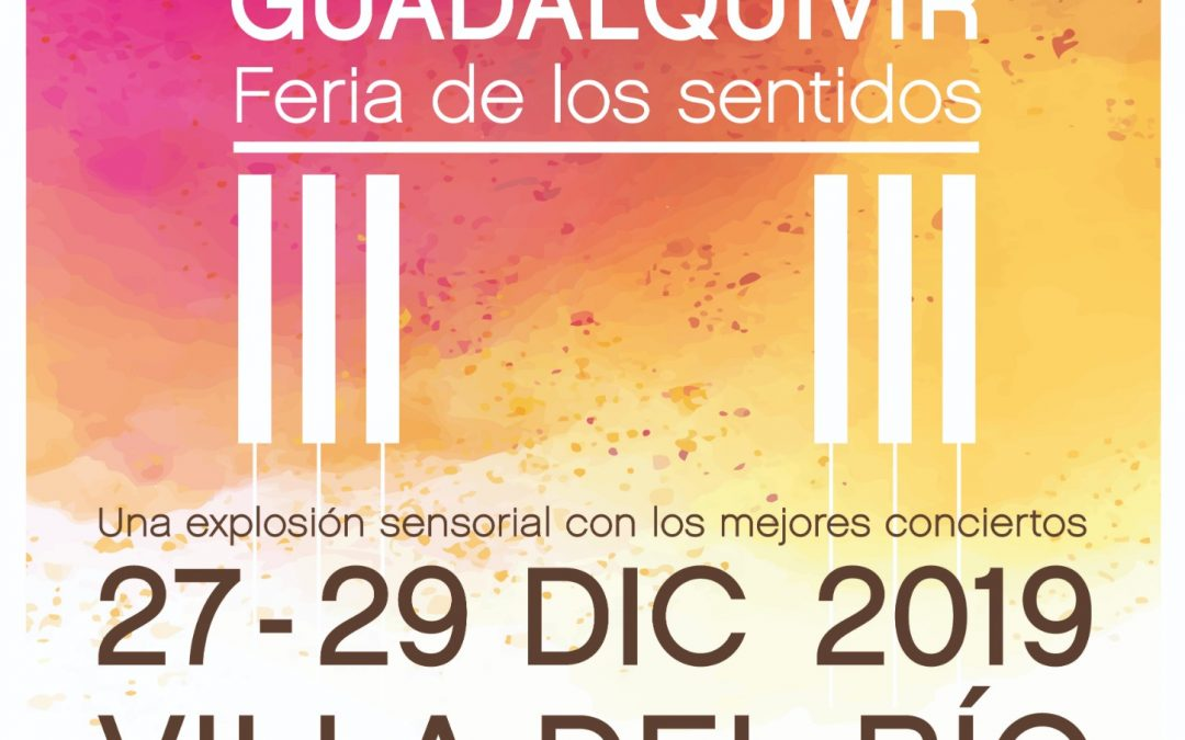 X Festival Internacional de Piano Guadalquivir 'Feria de los sentidos' 1