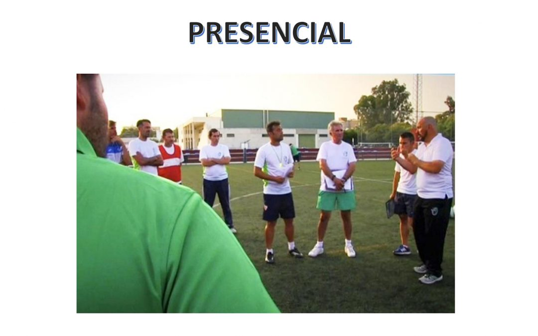 Curso de entrenador de Fútbol 1