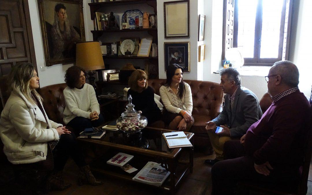 Visita Institucional. Delegada Territorial de Turismo, Regeneración, Justicia y Administración Local en Córdoba de la Junta de Andalucia  1