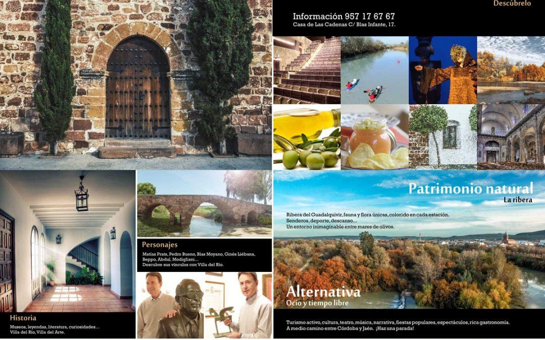 Villa del Río promociona su oferta turística en Fitur 1