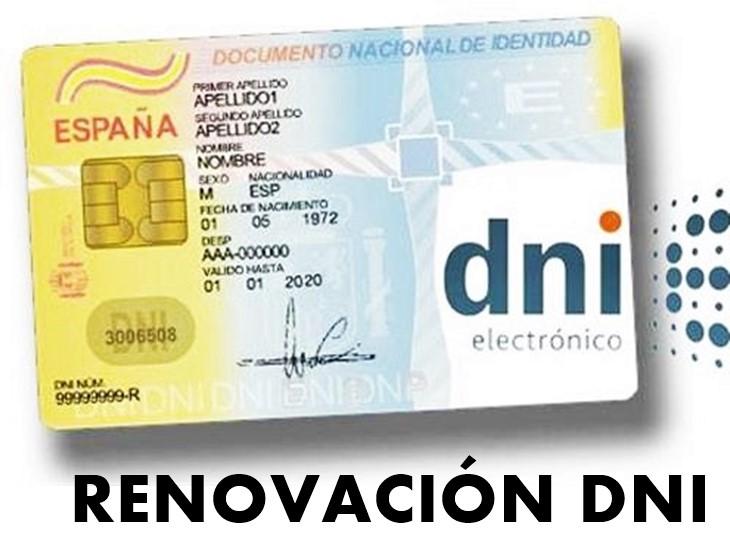 Renovación DNI 1