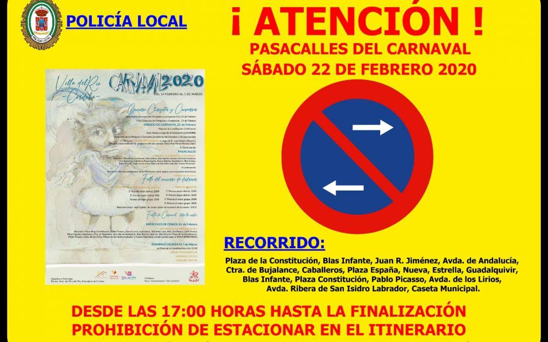 Atención.Pasacalles Carnaval de Villa del Río 2020 1