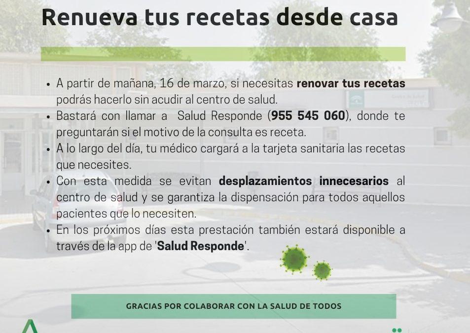 Coronavirus   Medidas consejería de Salud 1