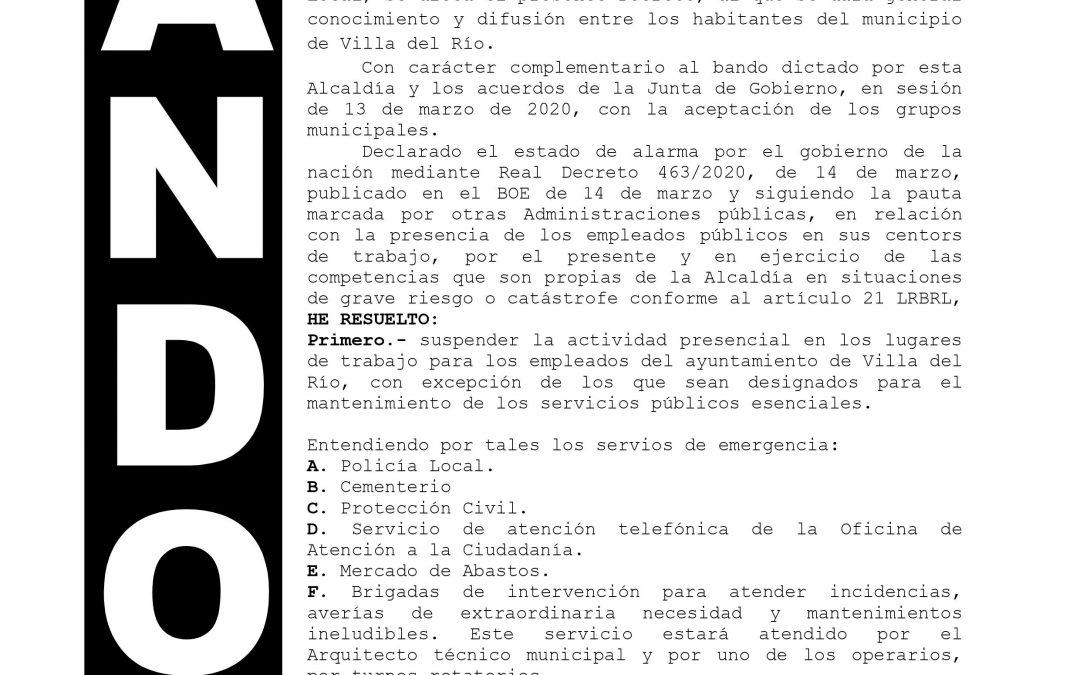 Coronavirus   Medidas Municipales 1