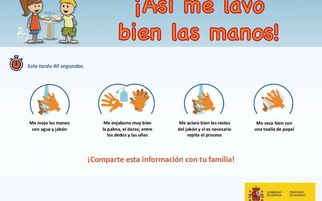 Coronavirus | Recemendación 1