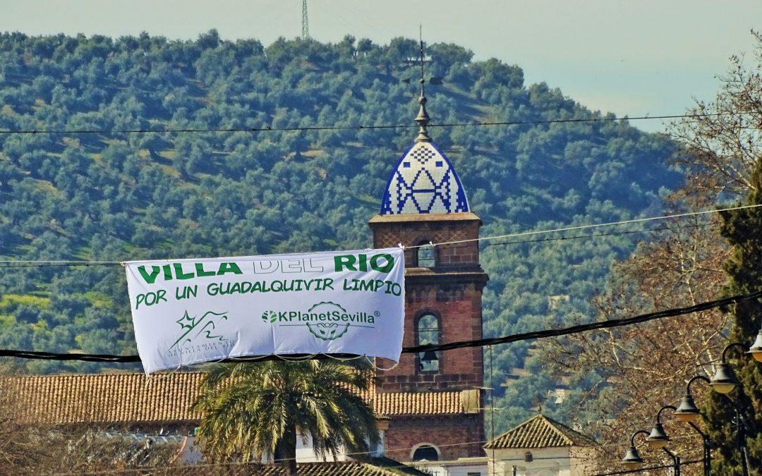 """Villa del Río se suma al proyecto """"Guadalquivir Limpio"""" 1"""