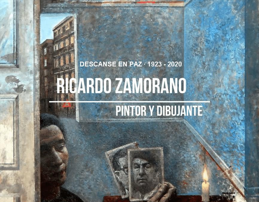 Fallece el pintor y dibujante Ricardo Zamorano Molina 1