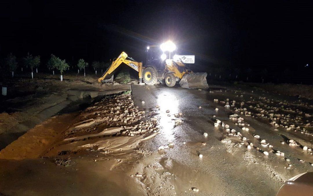 El Ayuntamiento ejecuta tareas de limpieza en las localizaciones afectadas por las últimas lluvias 1