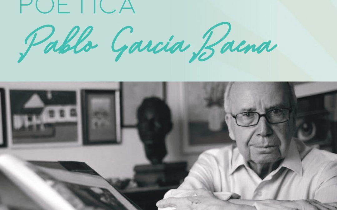 III Premio de investigación poética 'Pablo García Baena' 2020 1