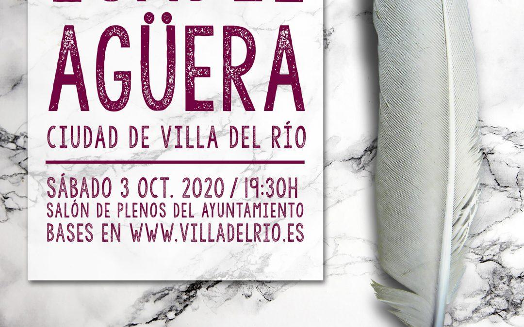 V Certamen Nacional de las Letras 'Isabel Agüera' Ciudad de Villa del Río 1
