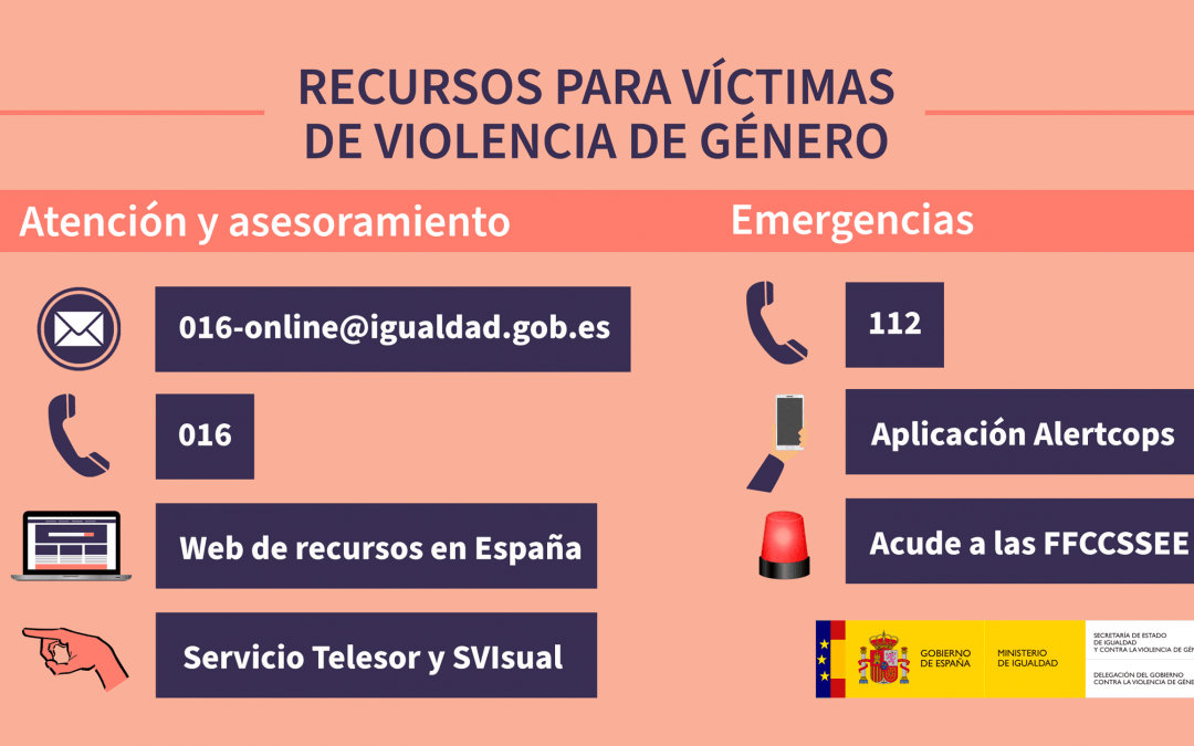 Recursos para víctima de violencia de género 1