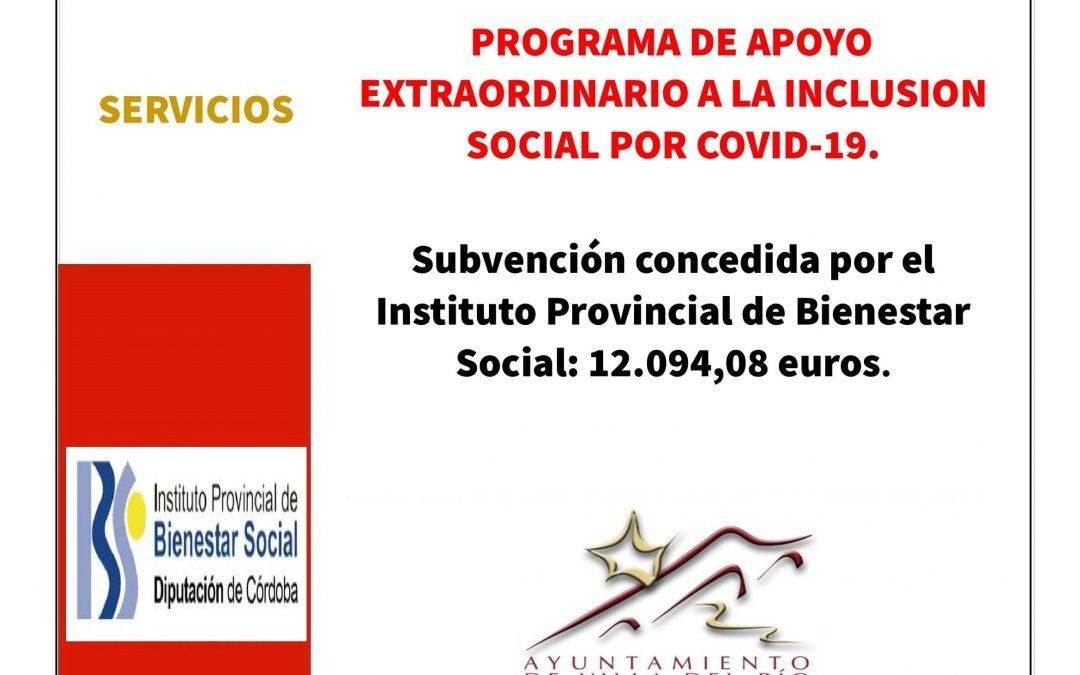 PROGRAMA DE APOYO EXTRAORDINARIO A LA INCLUSION SOCIAL POR COVID-19. 1