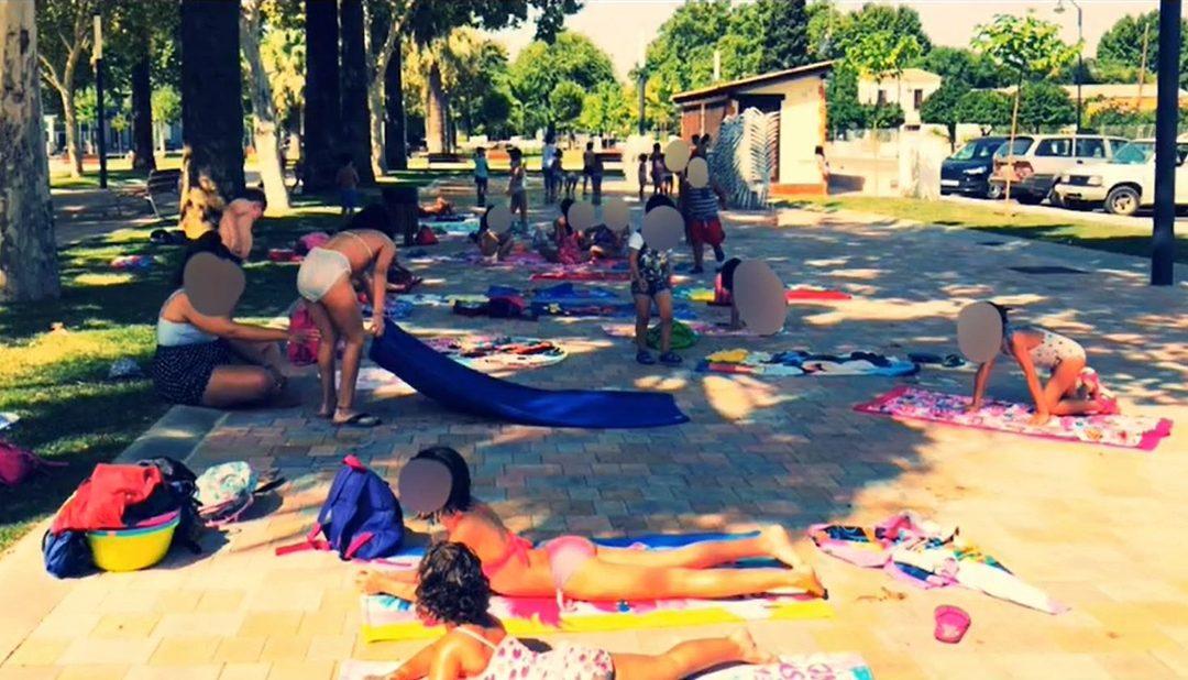 Ludoteca de verano al aire libre 1