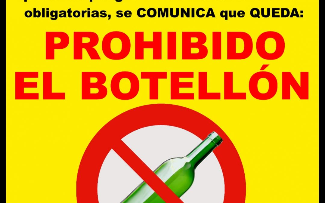 Prohibido el botellón 1