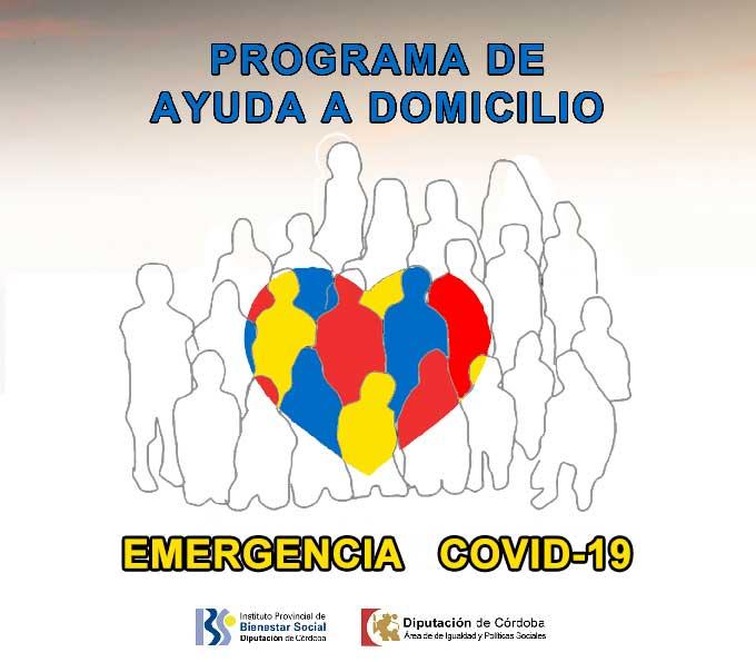 Programa de ayuda a domicilio Covid-19 Diputación de Córdoba  1
