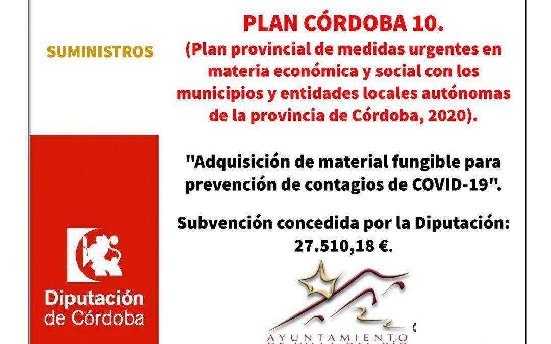 """Proyecto: """"Adquisición de material fungible para prevención de contagios de COVID-19"""". 1"""