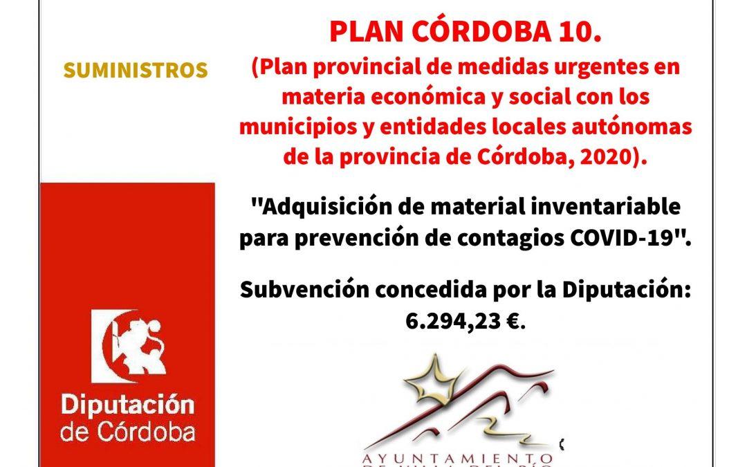 """Proyecto: """"Adquisición de material inventariable para prevención de contagios COVID-19"""". 1"""