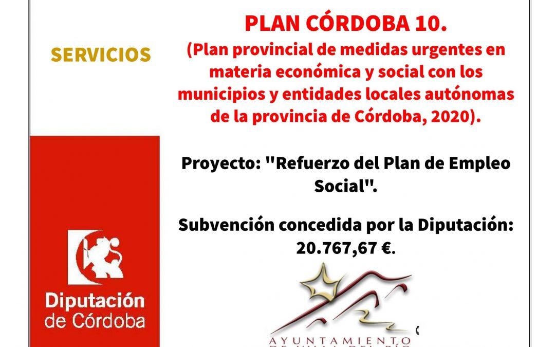 "Proyecto: ""Refuerzo del Plan de Empleo Social"". 1"