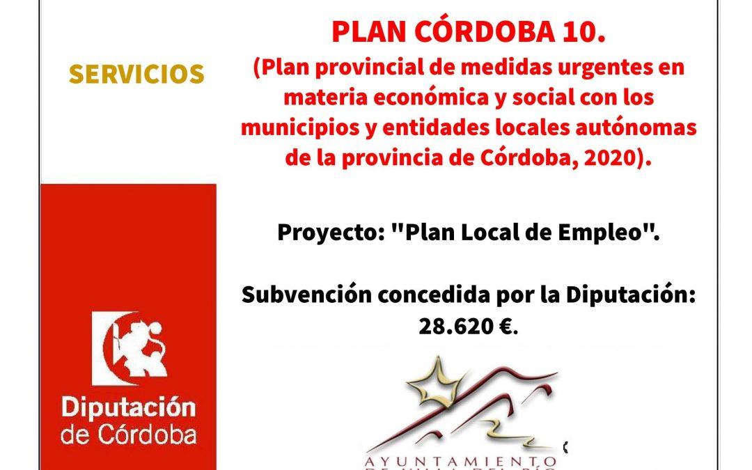 """Proyecto: """"Plan Local de Empleo"""". 1"""