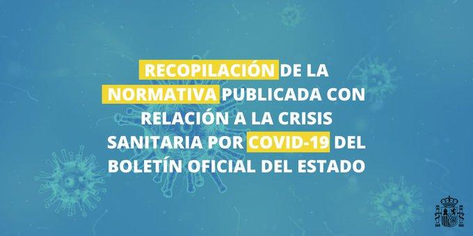Normativa Covid-19 aprobada por el Gobierno 1