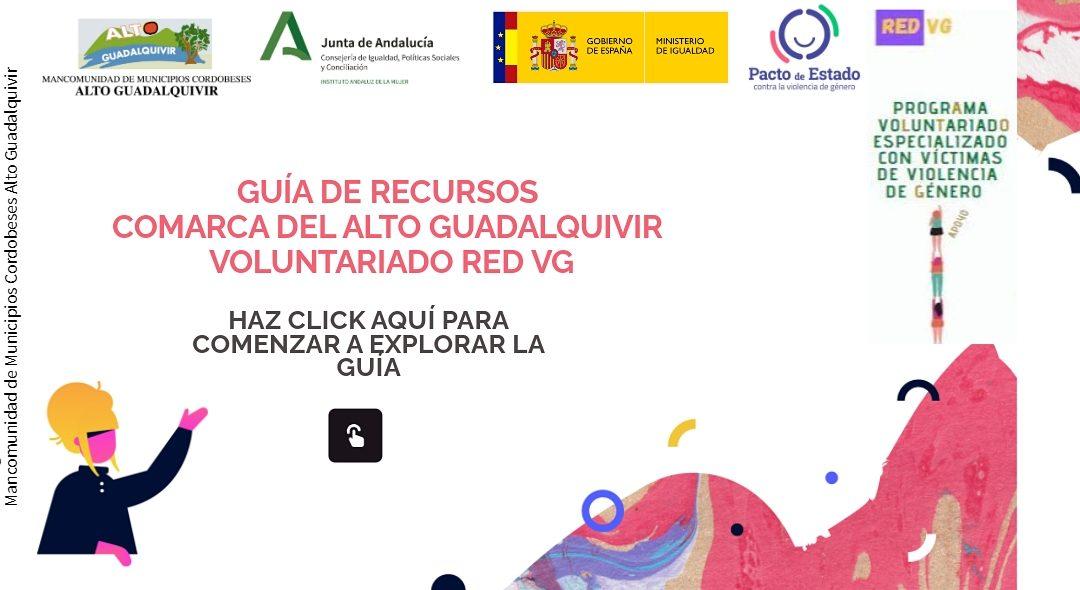 Guía de Recursos de la Comarca del Alto Guadalquivir voluntariado Red VG 1