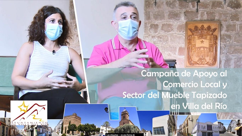 Campaña | Apoyo al comercio y al sector del mueble tapizado de Villa del Río 1