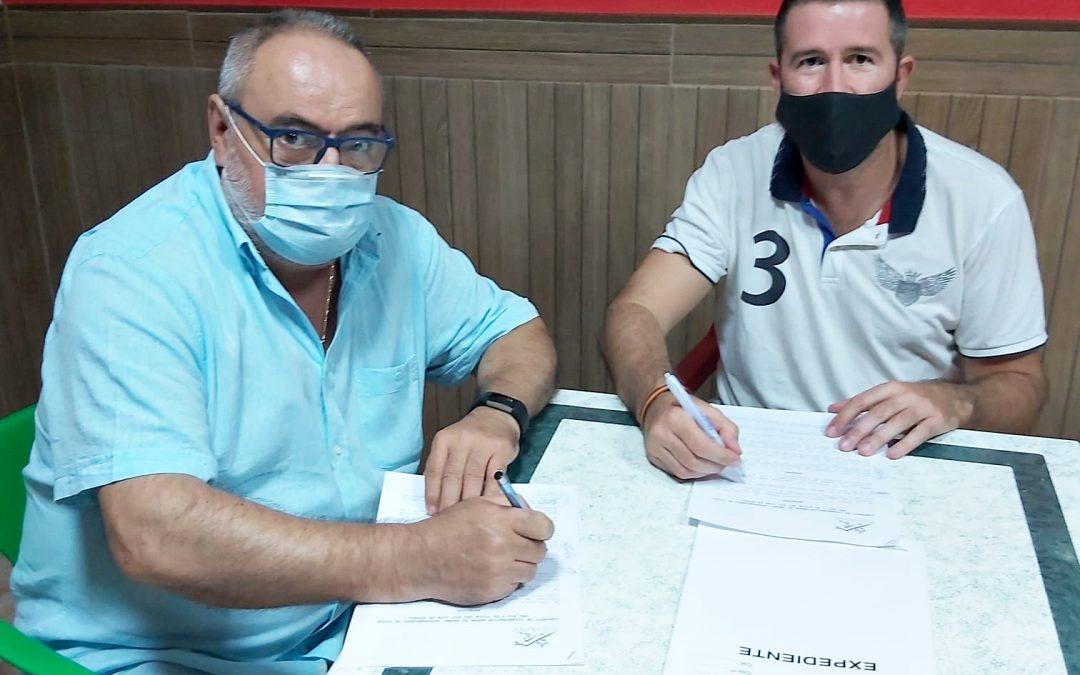 Firmado el convenio con el Villa del Río CF temporada 2020/21 1