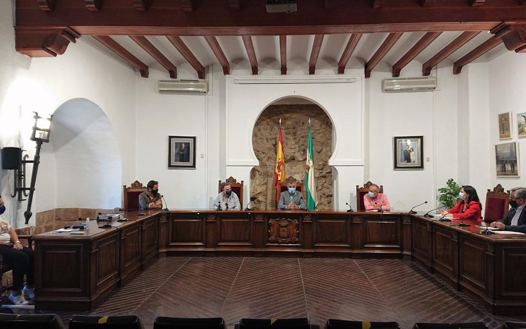 Reunión de trabajo para la puesta en marcha del plan de impulso del turismo de la comarca del Alto Guadalquivir 1