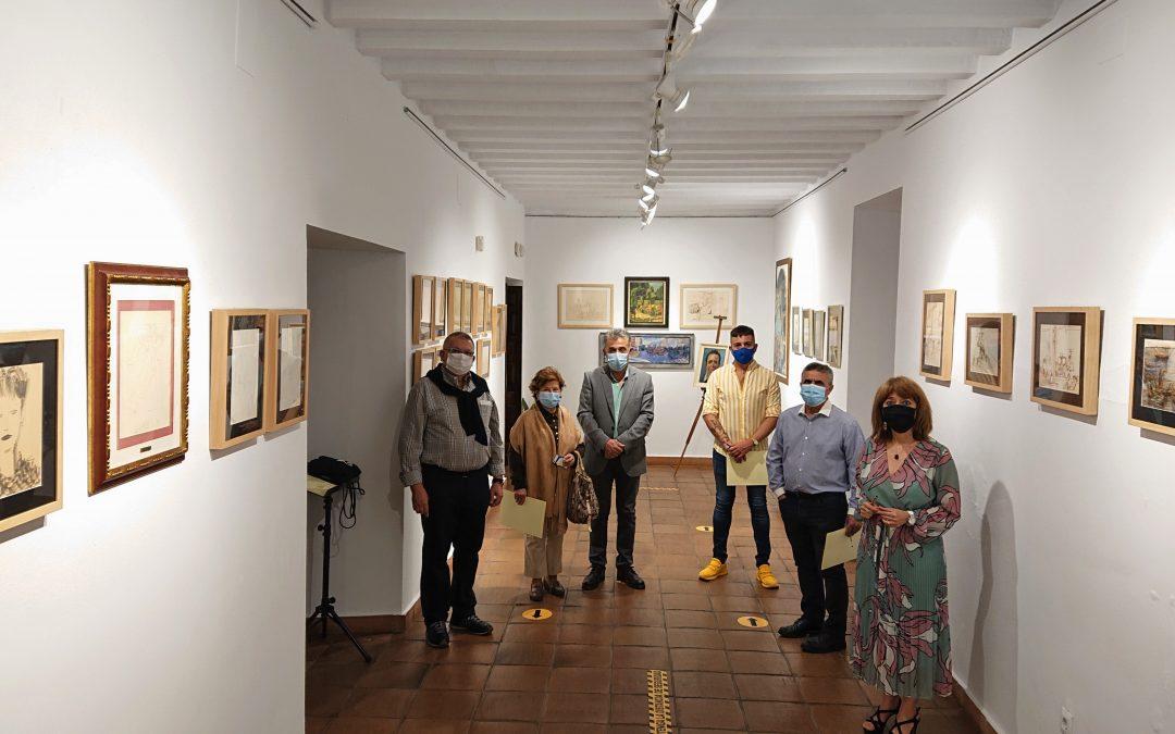 Acto de firma de actas de las nuevas donaciones artísticas recibidas por el Ayuntamiento de Villa del Río 1