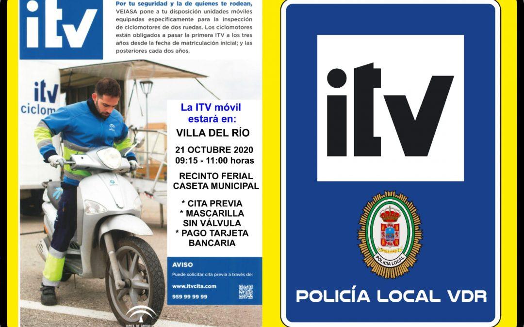 Policía Local. ITV Ciclomotores 1