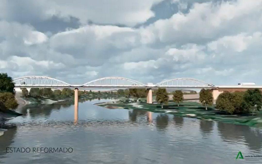 Abjudicado el proyecto de mejora y rehabilitación del puente de hierro sobre el río Guadalquivir en la carretera A-3101 1