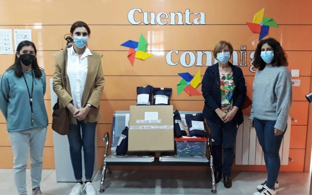 El Ayuntamiento de Villa del Río realiza un reparto de mascarillas para los escolares de nuestro municipio 1