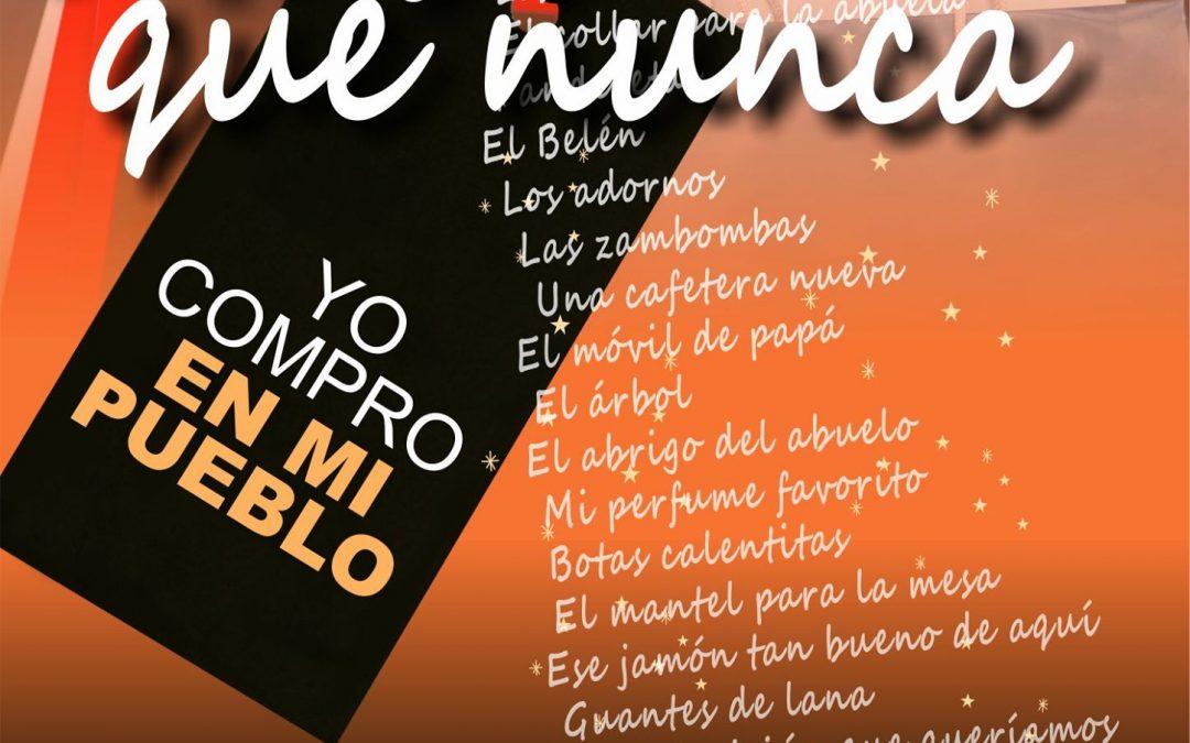 Campaña navideña 'Más que nunca, yo compro en mi pueblo' 1