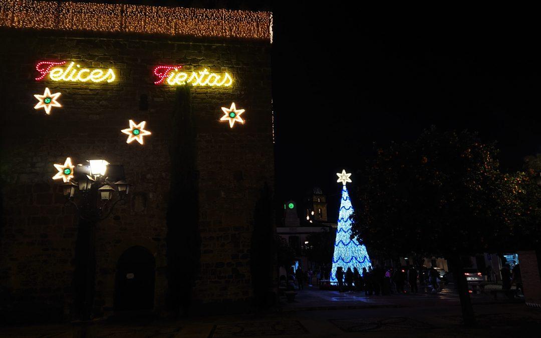 Inauguración del alumbrado especial de Navidad 1