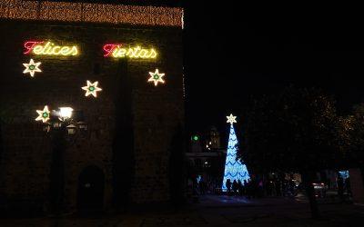 Inauguración del alumbrado especial de Navidad