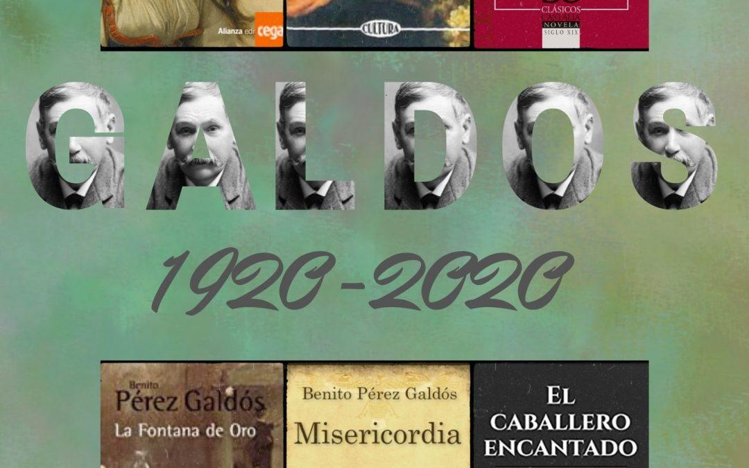 La Biblioteca Municipal conmemora a Benito Pérez Galdós 1