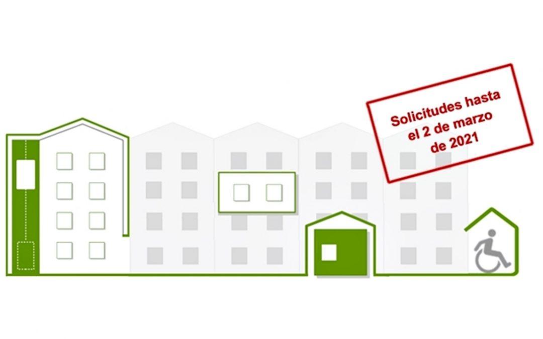 Convocatoria de subvenciones para la rehabilitación de viviendas  1