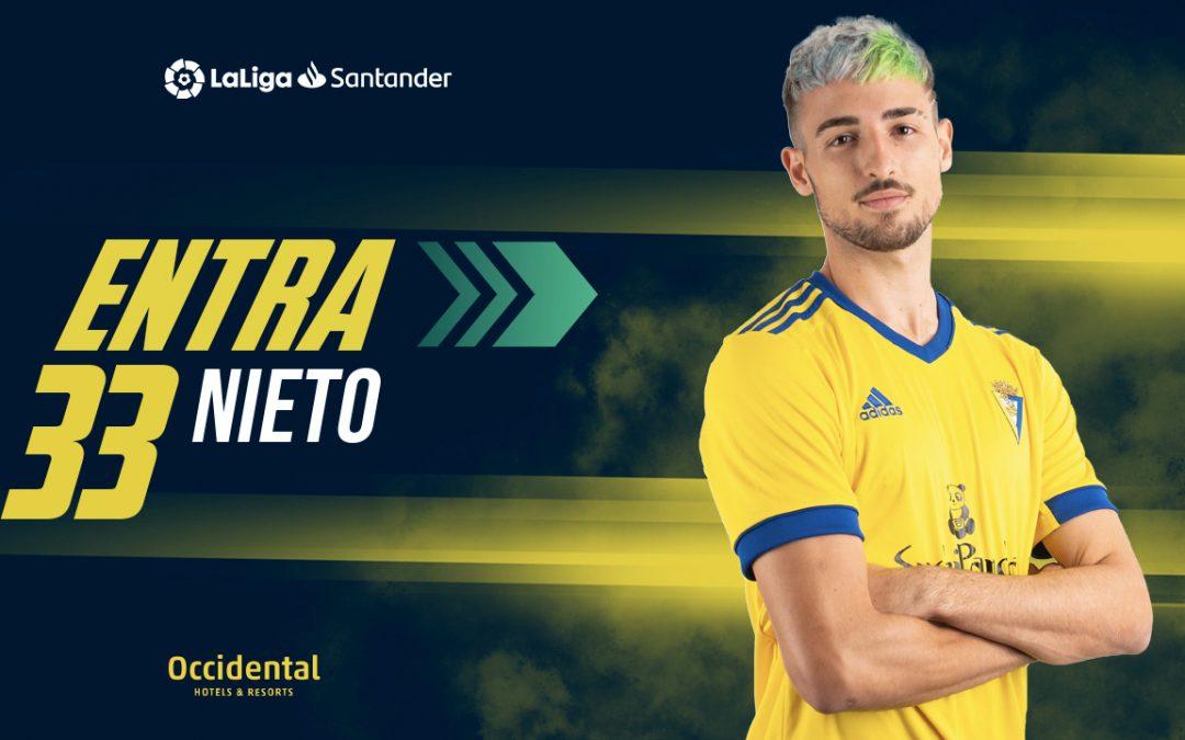 El villarrense Manuel Nieto Sanchez debuta en primera división  1