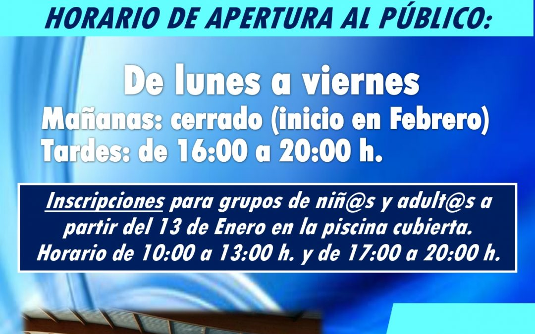 Apertura Piscina Cubierta Municipal 1