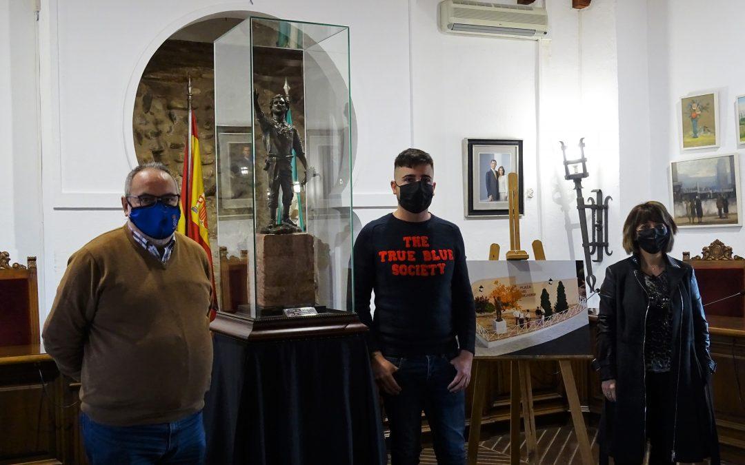 Presentación  a la ciudadanía del boceto de la escultura 'El segador de Villa del Río' 1