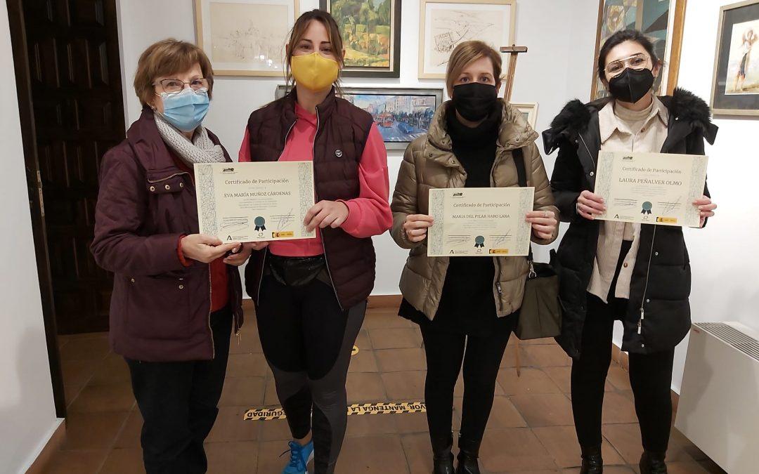 Entrega de certificados del curso de formación para el acompañamiento de mujeres víctimas de violencia de género 1