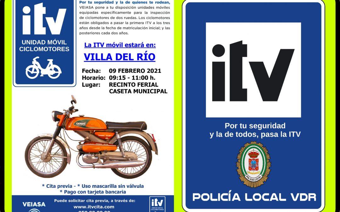 Policía Local | ITV Ciclomotores 1