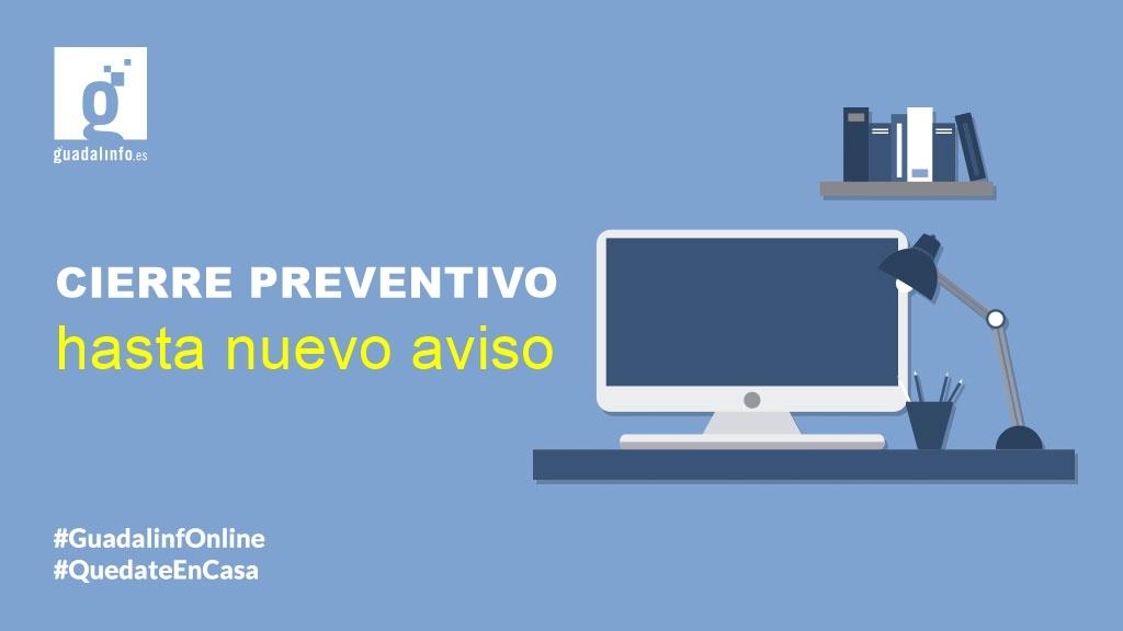 Cierre preventivo del Centro Guadalinfo Villa del Río 1