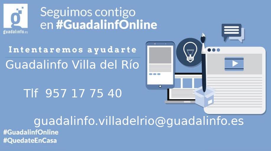 El centro Guadalinfo Villa del Río reanuda su servicio 1