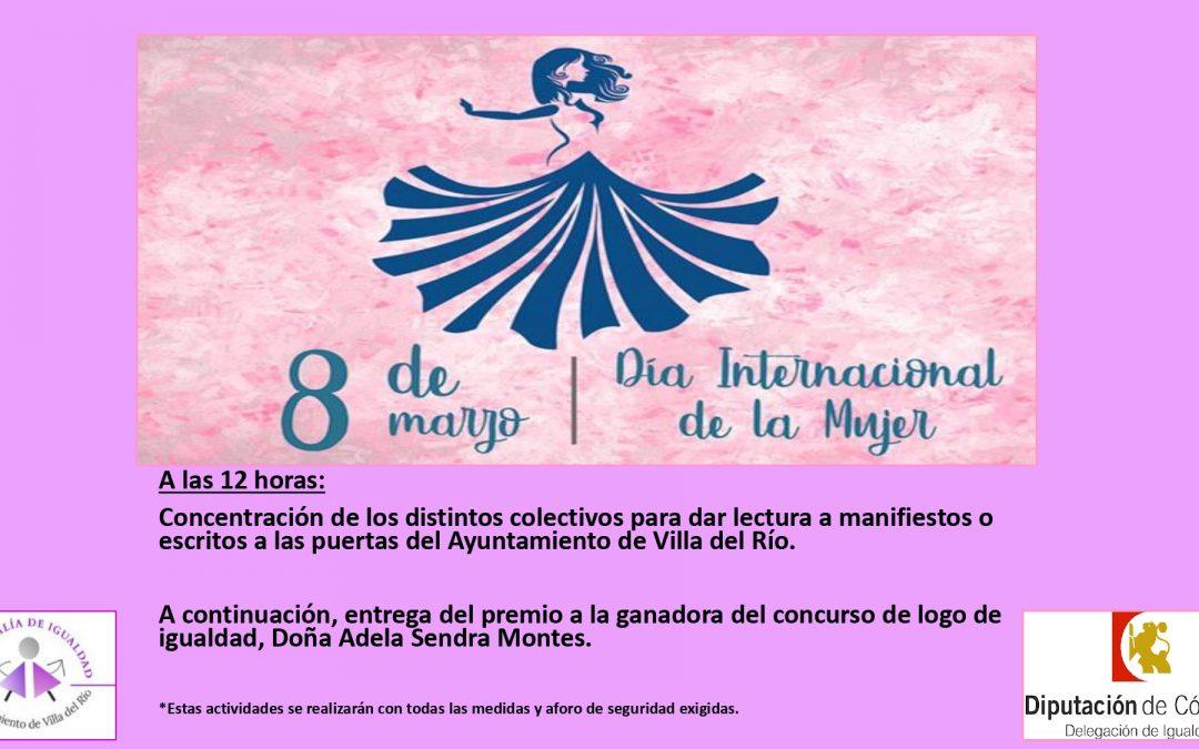 Fallo del concurso logotipo de la concejalía de Igualdad del Ayuntamiento de Villa del Río 1