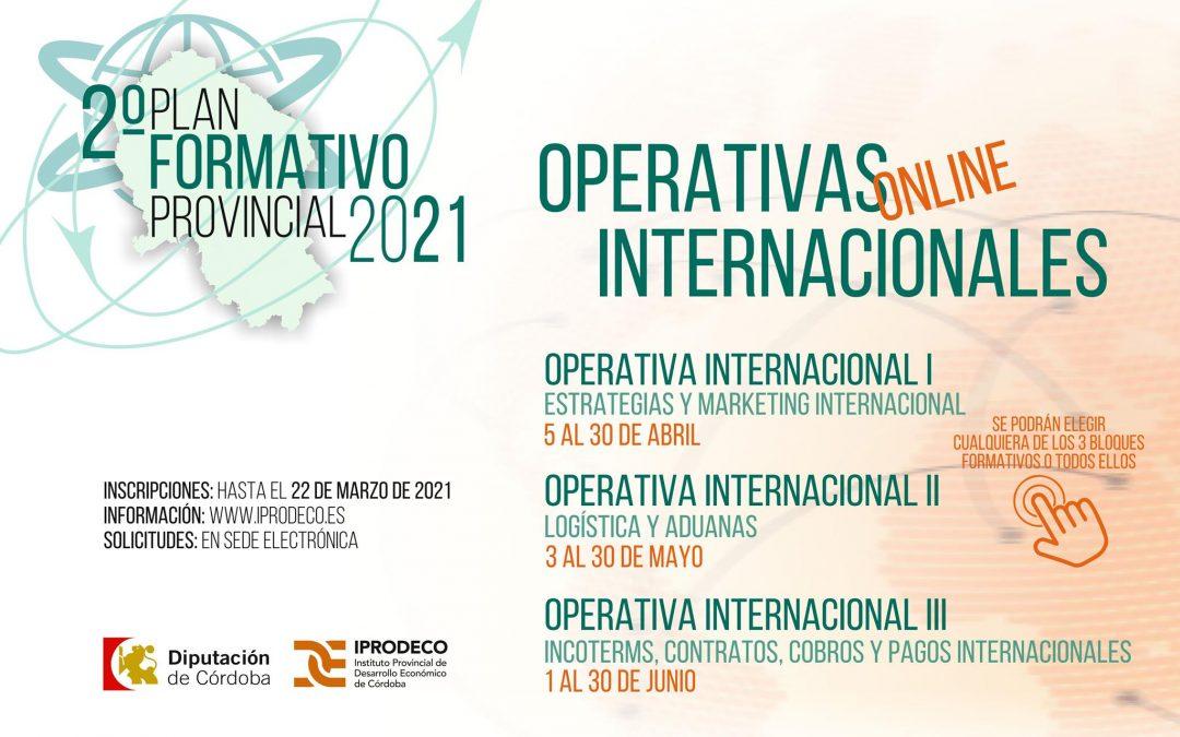 Iprodeco | Cursos Operativas Internacionales 1